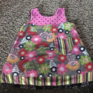 Reversible dress size 3T or 4T girls